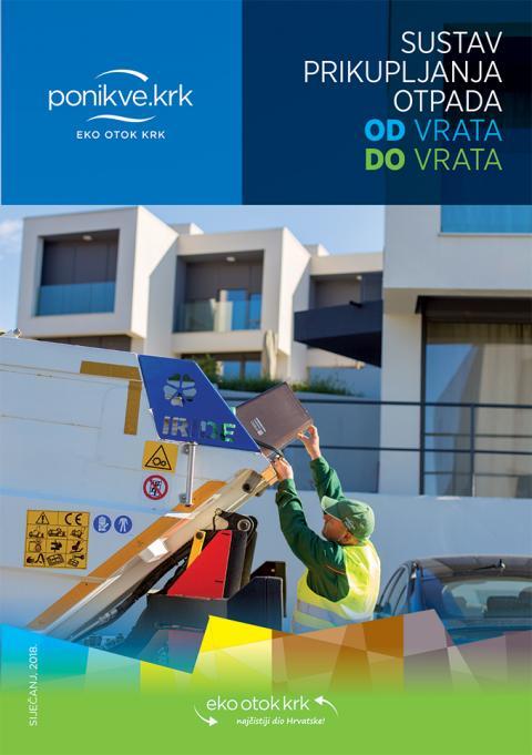 Brošura Odvoz otpada OD varata DO vrata (2018.g.)