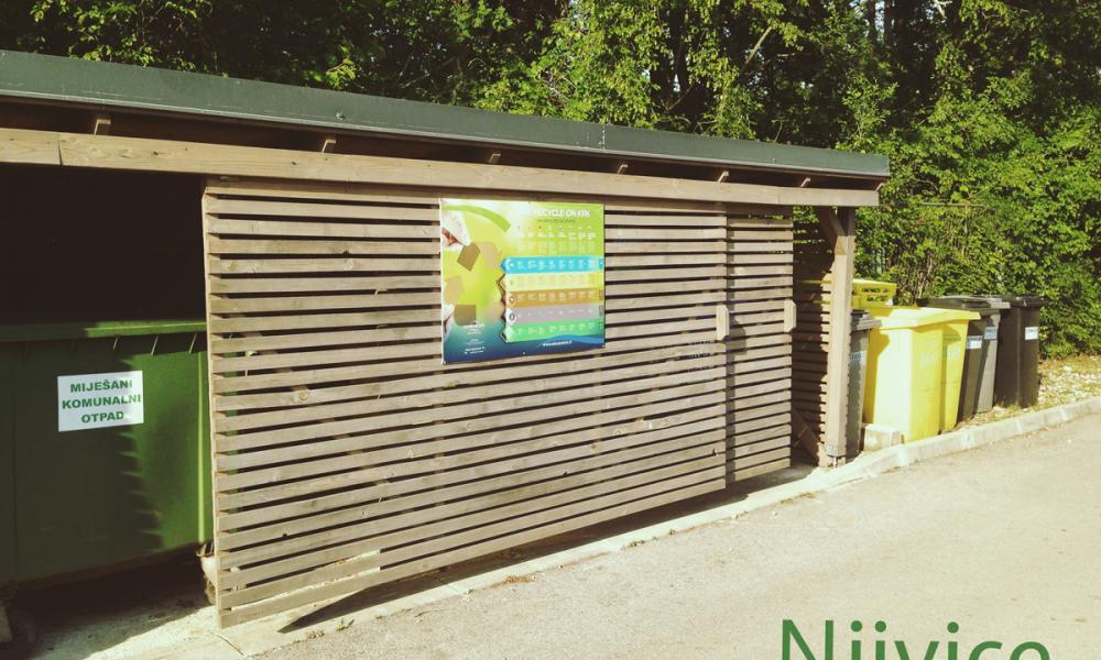 Kamp Njivice zeleni otoci